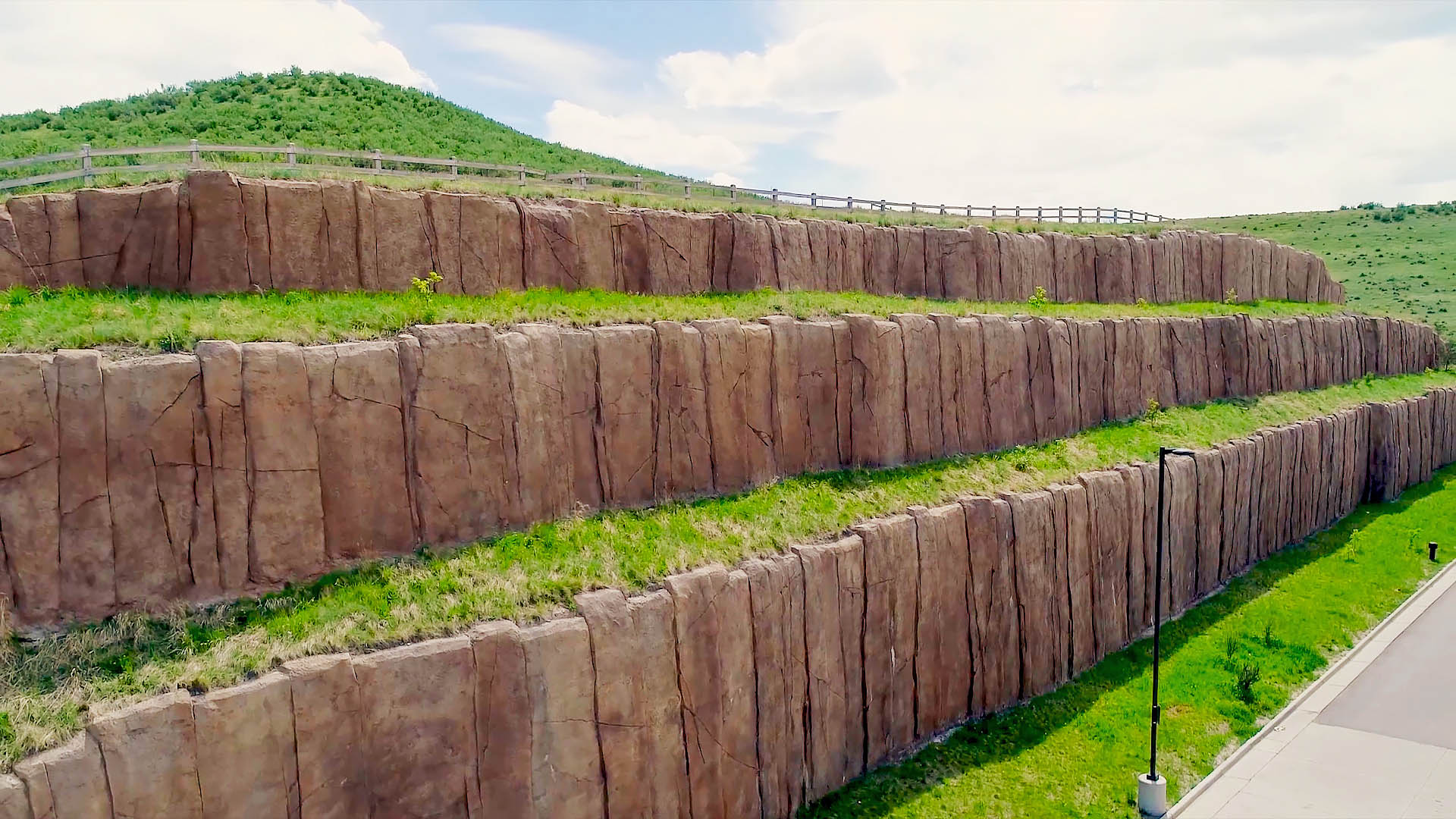 Boulderscape's Columnar Basalt Shotcrete Finish Saved Owners $100,000.00 and Also Met Cabela's Visual Demands